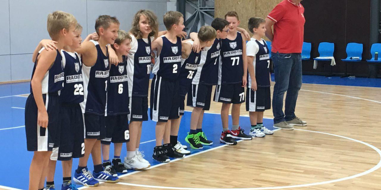 Chlapci a Dívky U11 vstoupili do sezóny. Chlapci si připisují první vítězství!